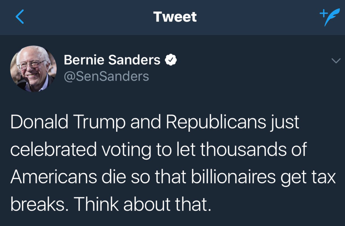 The Truth about Obamacare, People Will Not Die, Another Lie Manufactured – Bernie Sanders, Hillary Clinton Be Damned