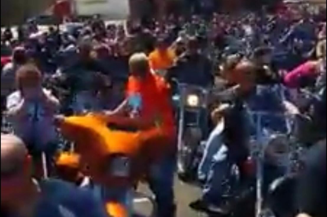 Bikers Headed for Showdown WithMueller